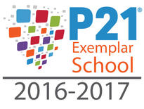 P21 Exemplar School Badge